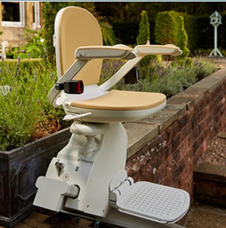 Kültéri lépcsőlift, használt lépcsőlift, széklift beépítés garanciával